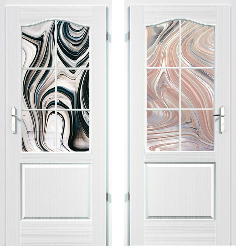 drzwi ze szkłem spectrum barok
