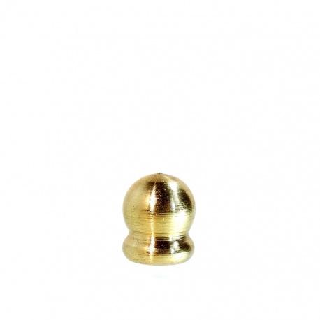 Końcówka - szyszka ozdobna nr 15, h15 złota mała do lampy Tiffany