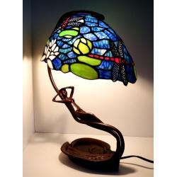 "Lampa witrażowa, Tiffany ""Lilie"" Beauty Lady"