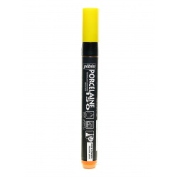 Marker Porcelaine 150, kolor żółty do wypalania.