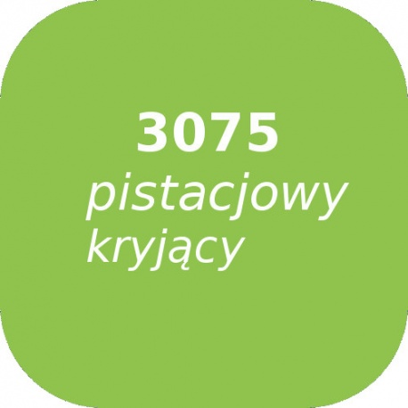Puder OPTUL 3075 /0 pistacjowy kryjąca, FF, 100g