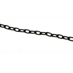 Łańcuszek drobny czarny do witraży i zawieszak
