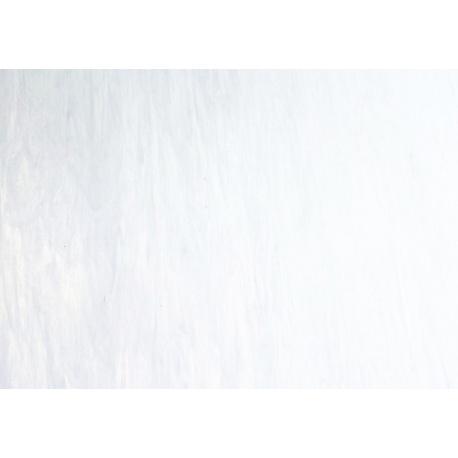 Szkło witrażowe 307 białe ze smugami
