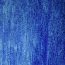 Szkło witrażowe 85 Ring Mottle szkło niebieskie