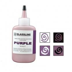 Glassline - farba do fusingu - fioletowa