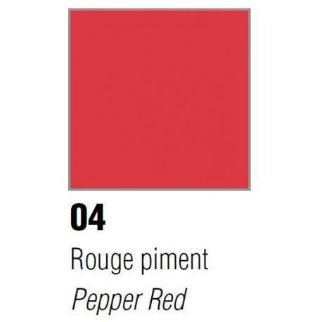 Vitrea 160, nr 04, Pepper Red, 45ml