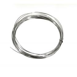 Drut do fusingu 3mb srebrny do bużuterii szklanej