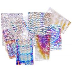 Szkło Dichroic bezbarwny podkład, coe96, 100g
