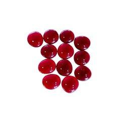 Kaboszony - oczka szklane 02a czerwone, 200g