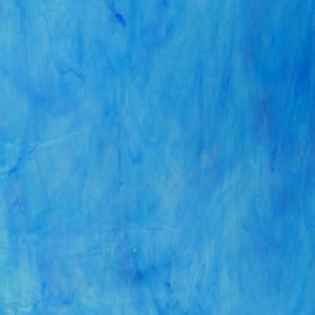 Szkło witrażowe 1441 szkło niebieskie
