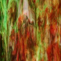 Szkło witrażowe 106N D zielone