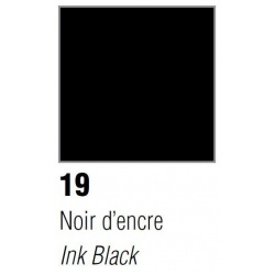 Vitrea 160, nr 19, Ink Black, 45ml