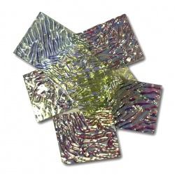 Szkło Dichroic Baoli bezbarwny podkład, coe90 - mieszanka