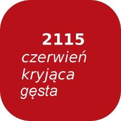 Bąble OPTUL 2115 czerwień kryjąca-gęsta, FF-BF, 100g