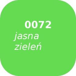 Puder OPTUL 0072 /0 jasna zieleń, FF, 100g