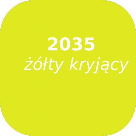 Puder OPTUL 2035 /0 zółty, FF-BF, 100g