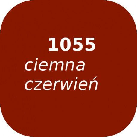 Puder OPTUL 1055 /0 ciemna czerwień, FF-BF, 100g
