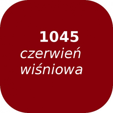 Puder OPTUL 1045 /0 czerwień wiśniowa, FF-BF, 100g