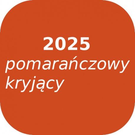 Fryta OPTUL 2025 /3 pomarańczowy kryjący, FF-BF, 100g