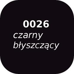 Fryta OPTUL 0026 /3 czarna błyszcząca, FF-BF, 100g