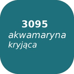 Fryta OPTUL 3095 /3 akwamaryna kryjąca, FF, 100g