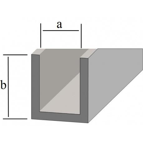 Profil ołowiany U 4x6mm