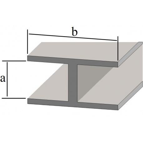 Profil ołowiany H 4x8mm