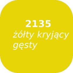 Bąble OPTUL 2135 żółty kryjący-gęsty, FF-BF, 100g