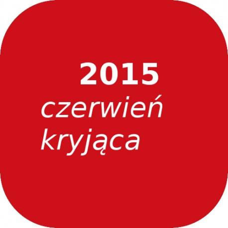 Bąble OPTUL 2015 czerwień kryjąca, FF-BF, 100g