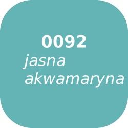 Bąble OPTUL 0092 jasna akwamaryna, FF-BF, 100g