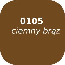 Bąble OPTUL 0105 ciemny brąz, FF, 100g