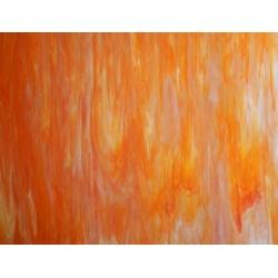 Szkło witrażowe 1086 pomarańczowy