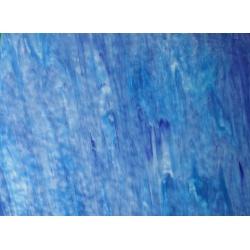 Szkło witrażowe 1441 Ring Mottle niebieskie