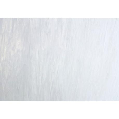Szkło witrażowe 309 białe mleczne