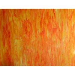Szkło witrażowe 175 pomarańczowe