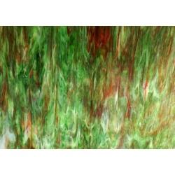 Szkło witrażowe 106N zielne do lamp