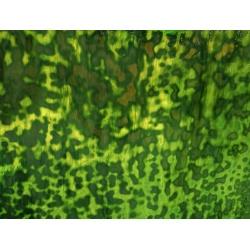 Szkło witrażowe 22 Ring Mottle zielony