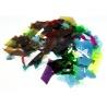 Konfetti Optul - miks kolorów, confetti, płatki szklane